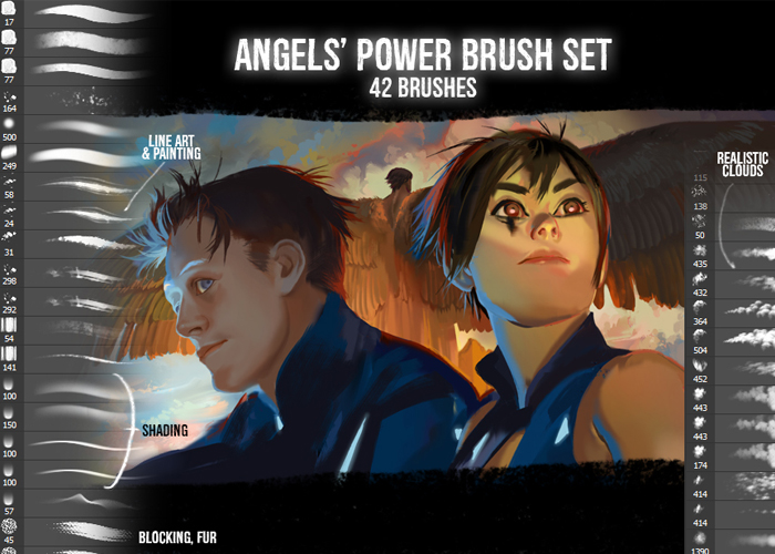 Angels Power Brushes