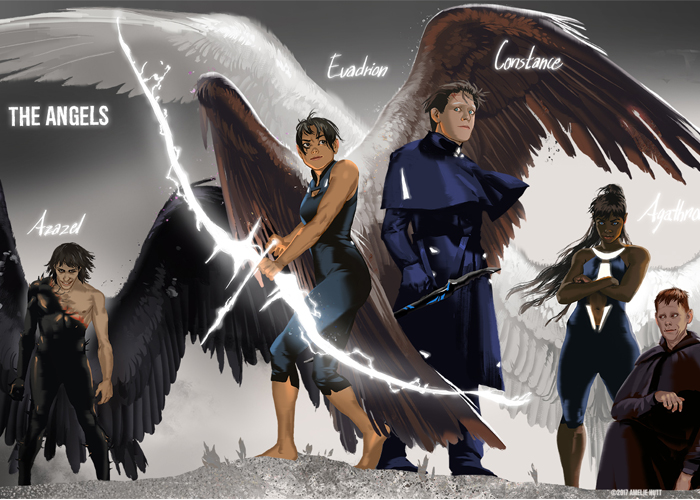 Angels Power Behind the scene