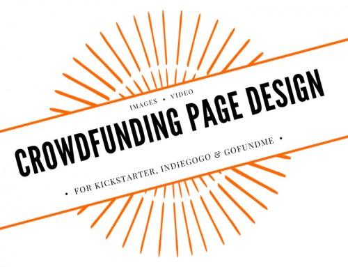Crowdfunding Page Design